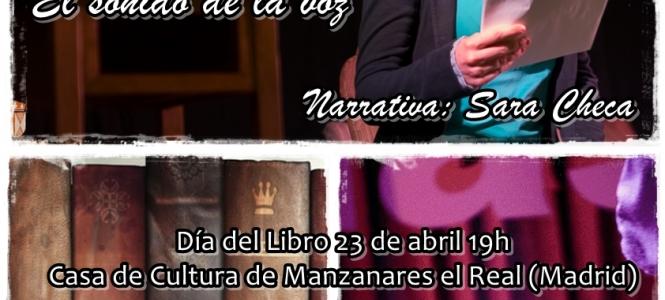 Voces Invisibles en la Casa de Cultura de Manzanares el Real (Madrid)