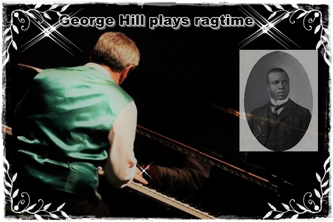 George Hill plays ragtime